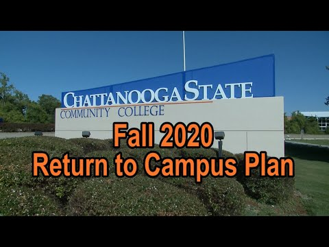 Chattanooga State Community College Return to Campus 2020