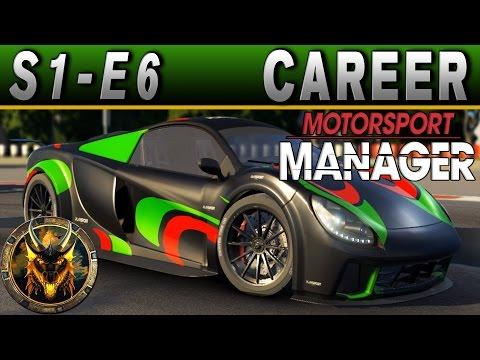 Motorsport Manager GT Career Mode S1E6 - WE'LL SLINGSHOT PAST THEM!