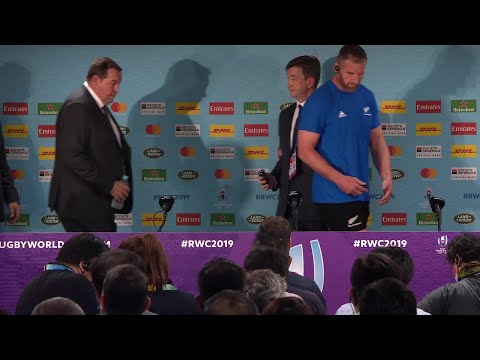 New Zealand post-match press conference   New Zealand v South Africa