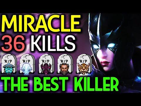 Miracle- Dota 2 [Phantom Assassin] The Best Killer | One Hit KO 36 Kills thumbnail