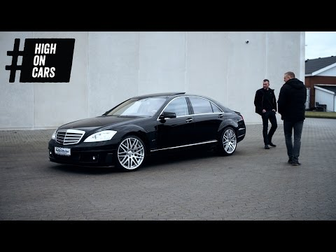 Kan Niels' ego være i en Brabus 800 (Mercedes S600)? - High on Cars