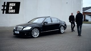 Does Beckers ego fit in an Brabus 800? (Mercedes S600)
