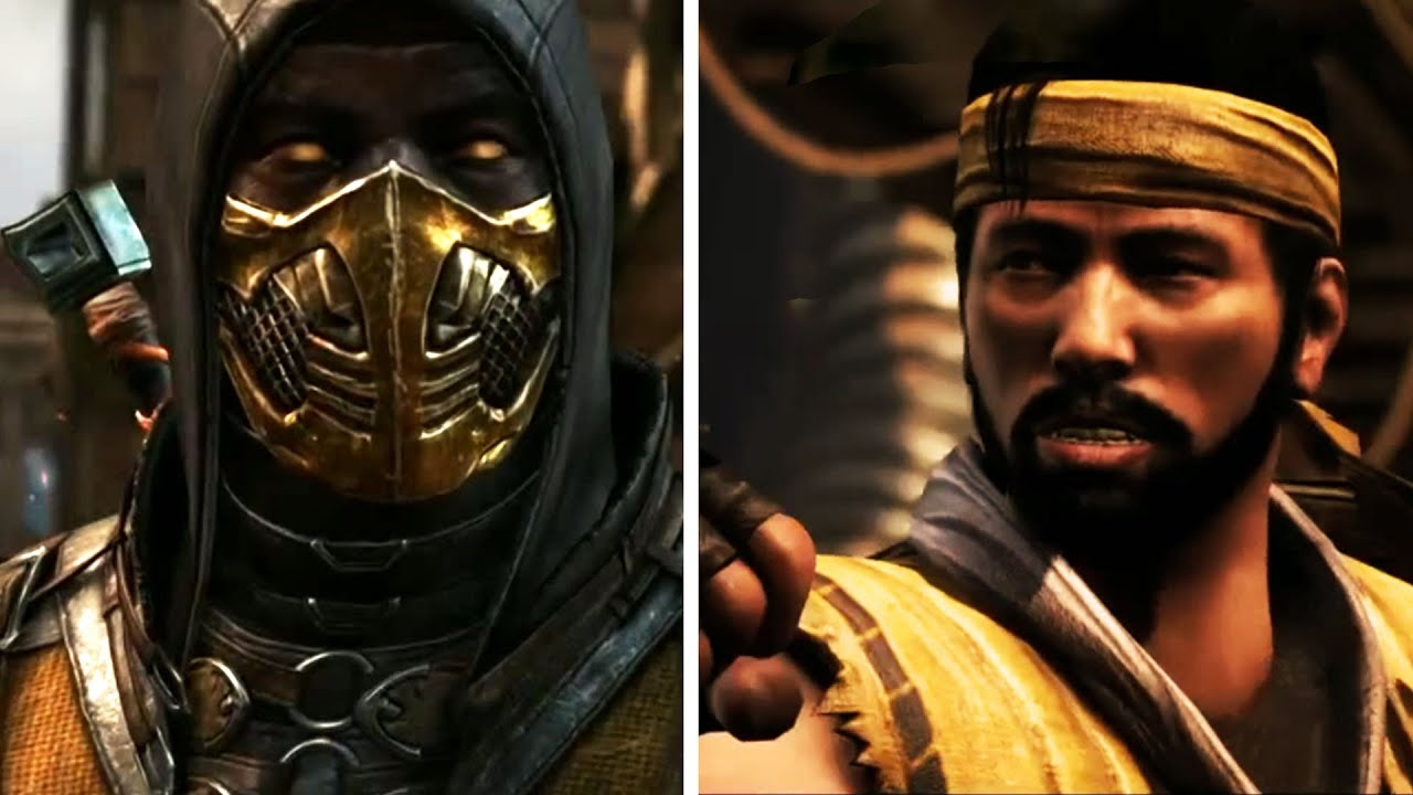 Mortal Kombat X Mirror Matches All Introductions Of