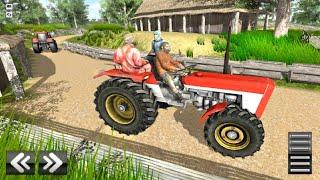 Tractor Driving Simulator Village Farming Games 3D - Tractor Driving Simulator - Android Gameplay screenshot 5