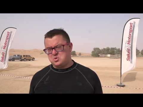 Третий этап Abu Dhabi Desert Challenge