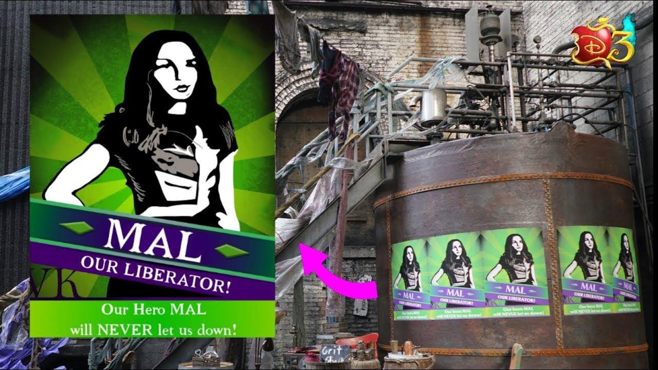 descendants 3 descendientes 3 mal s poster