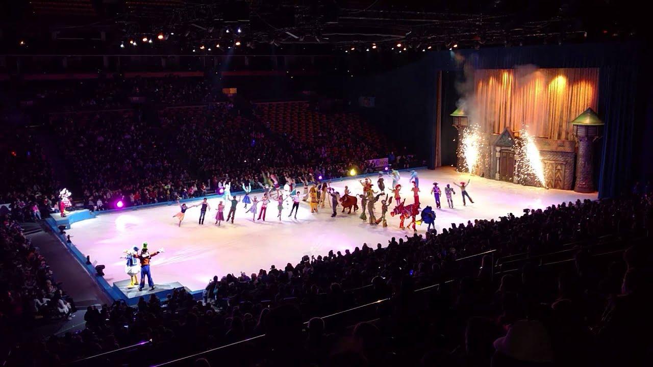 Disney On Ice 100 Years Of Magic Finale Boston Youtube