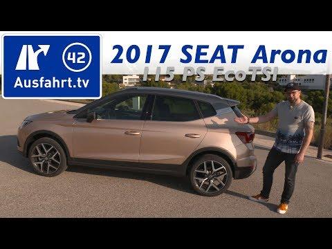 2017 SEAT Arona 1.0 EcoTSI 115 PS DSG - Kaufberatung, Test, Review