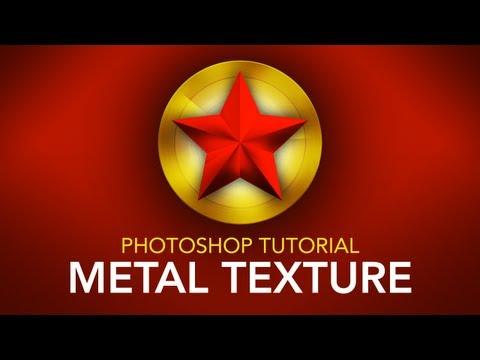 Photoshop Tutorial: Metal Texture
