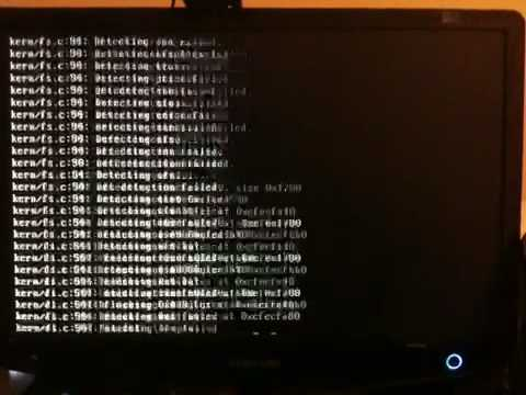 Manual boot debug on
