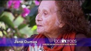 Jane Dumas, American Indian Heritage Month - Local Heroes
