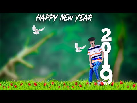 Happy new year comedy photo editing app download