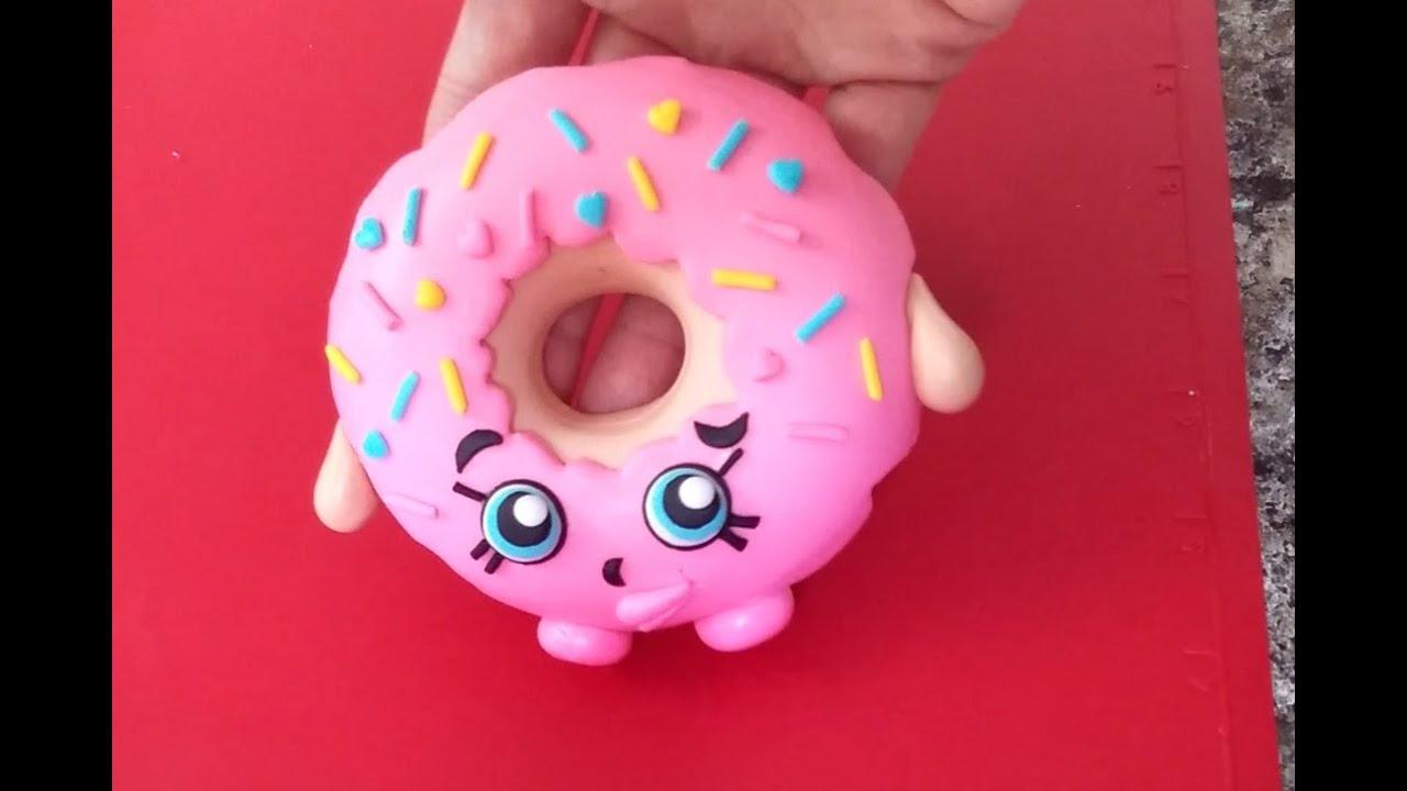 Shopkins D'lish Donut Cake Topper Tutorial - YouTube