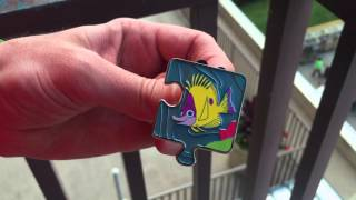Unboxing the FINDING NEMO Character Connection Pins!