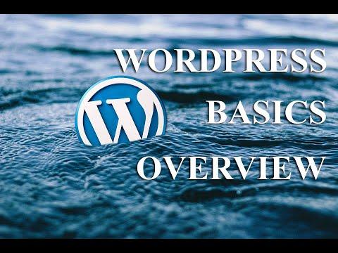 The Wordpress Basics Tutorial 2019 - MUST WATCH! thumbnail