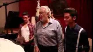 """Il Volo y Placido Domingo en el estudio preparando """"Il Canto"""""""