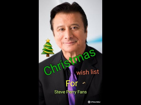 What Steve Perry Fans Want For Christmas