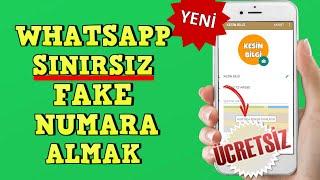 Whatsapp Sınırsız Fake Numara Alma 2020 BANLANMAYA, REHBER GÖZÜKMEME SORUNUNA KESİN ÇÖZÜM