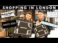 LONDON SHOPPING! | HM HOME, PRIMARK, WEST ELM, WHITE COMPANY, TIGER with LUKE CATLEUGH