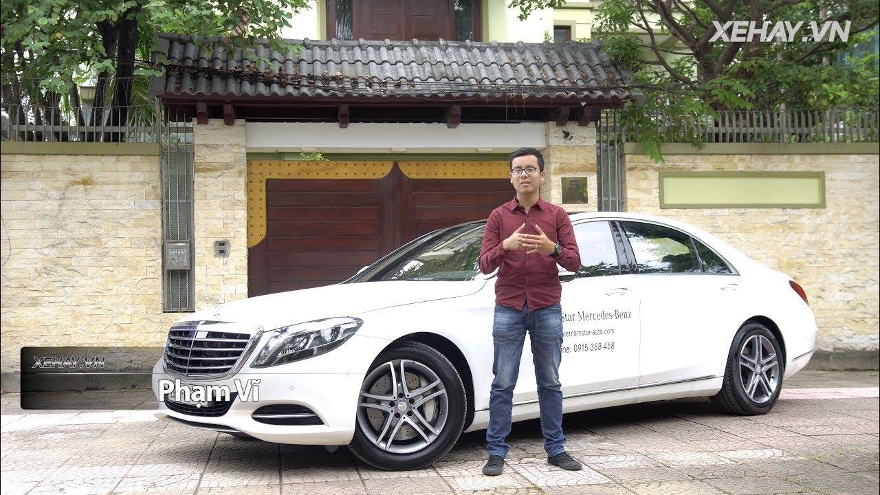 Đánh giá xe Mercedes-Benz S400 giá 3,9 tỷ đồng tại Việt Nam |XEHAY.VN|