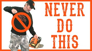 Don't Do This To an Easy Start Chainsaw or WeedEater - Video