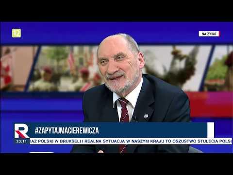 A.Macierewicz,nie ma pozwolenia na prorosyjskie działanie Wałęsy czy Lisa  08.01.2019