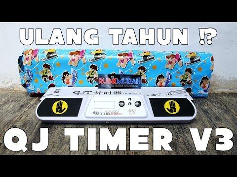 GW ULANG TAHUN !? | QJ Timer v.3 - Rubikmurah