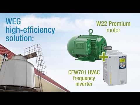 WEG's Solution For Cooling Towers