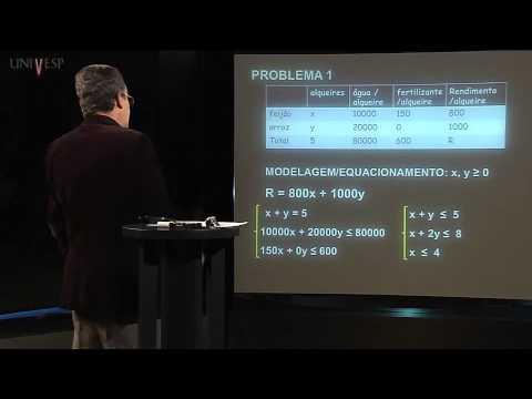 Matemática - Aula 17 - Otimização, Programação Linear - parte 1