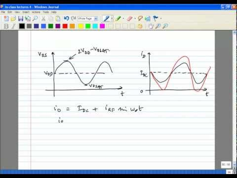 Lecture 36   Power Amplifiers