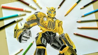 Speed drawing Bumblebee Transformer /Speed Art