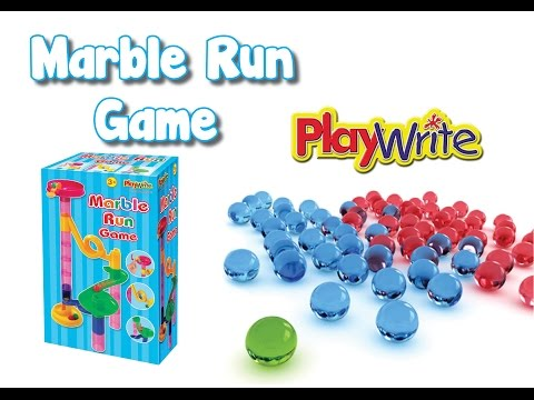 AWESOME Marble Run Toy - Great fun for kids!