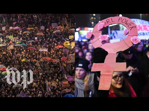 Women around the world march for equality