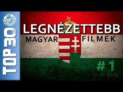 #1 TOP 30 Legnézettebb magyar filmek # 1. RÉSZ - 30-tól 21-ig