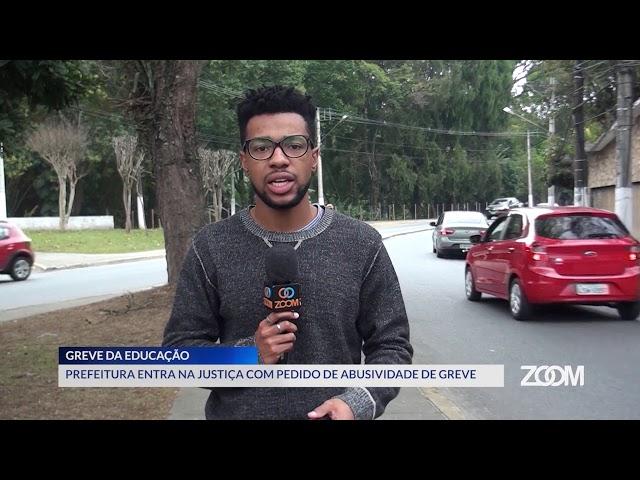 20-08-2019 - PREFEITURA ENTRA NA JUSTIÇA COM PEDIDO DE ABUSIVIDADE DE GREVE - ZOOM TV JORNAL