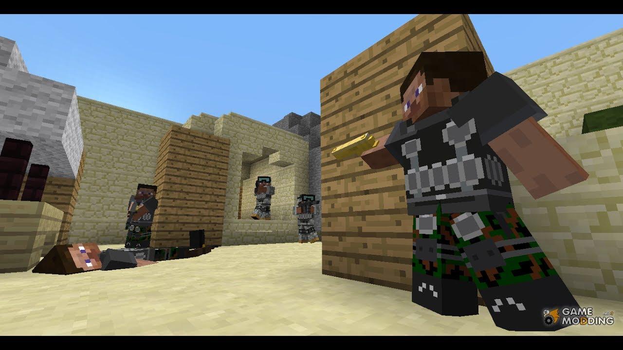 Minecraft Flans Mod Map Build YouTube - Minecraft maps fur flans mod
