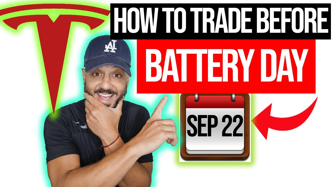 How to TRADE TESLA stock before Battery Day. BIG MOVE COMING? [TSLA]