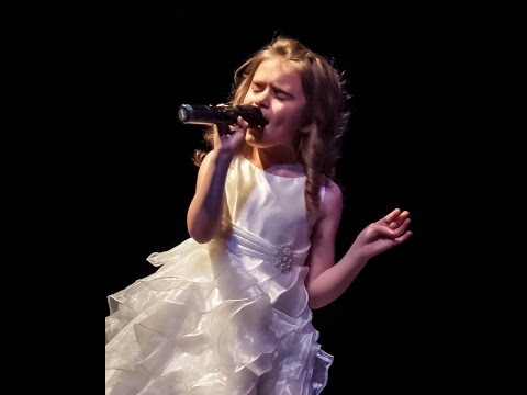 Let it Go Demi Lovato cover by 8 yr.old AMAZING child singer!