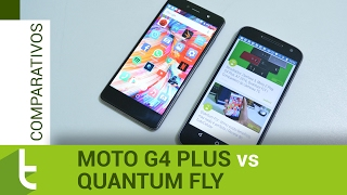 Comparativo: Moto G4 Plus vs Quantum Fly | Review do TudoCelular