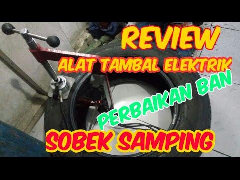 Review - Alat Tambal Ban Hot Press Elektrik Dua Tungku
