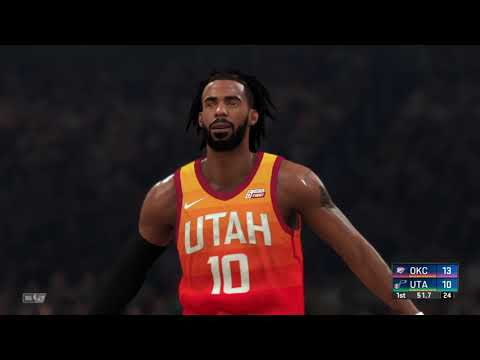 #NBA Today December 9, 2019 - Oklahoma City Thunder Vs Utah Jazz Full Game - #NBA2K20 - 동영상