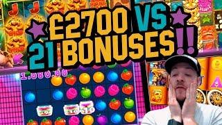 £2700 Vs 21 Bonuses - Hunt Highlights!