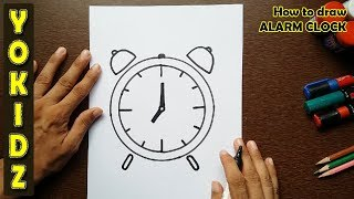 How to draw ALARM CLOCK