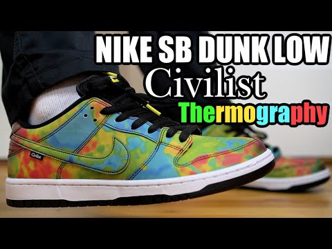 NIKE SB DUNK LOW CIVILIST THERMOGRAPHY REVIEW & ON FEET ...