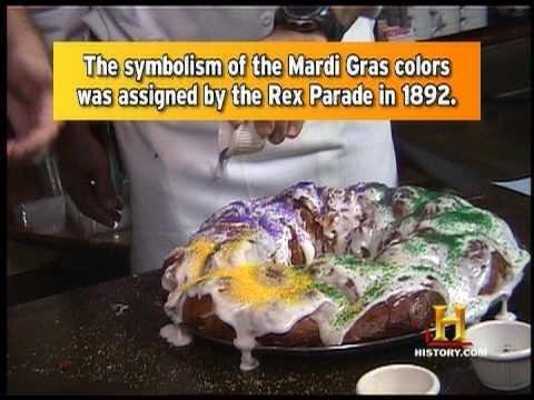 Famous Fat Dave: Mardi Gras King Cake