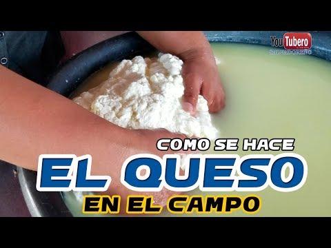 Como se hace el Queso de la leche de Vaca Procesos lacteos   youtubero salvadoreño
