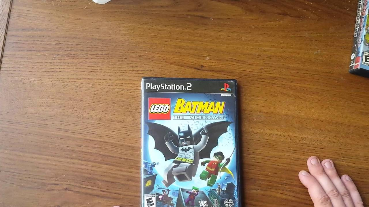 Lego Batman The Videogame Playstation 2 Unboxing Youtube