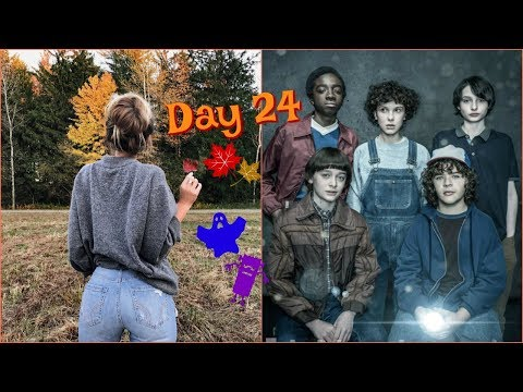 Vlogtober Day 24 // Stranger Things 2 Marathon!