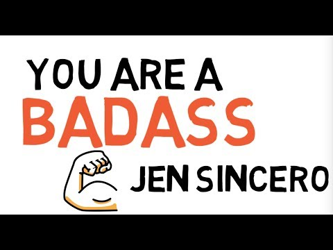 YOU ARE A BADASS | JEN SINCERO | ANIMATED BOOK SUMMARY