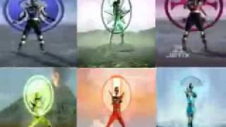 power rangers all morphs mmpr r p m